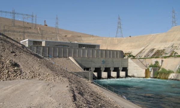 Karkheh-Staudamm im Iran