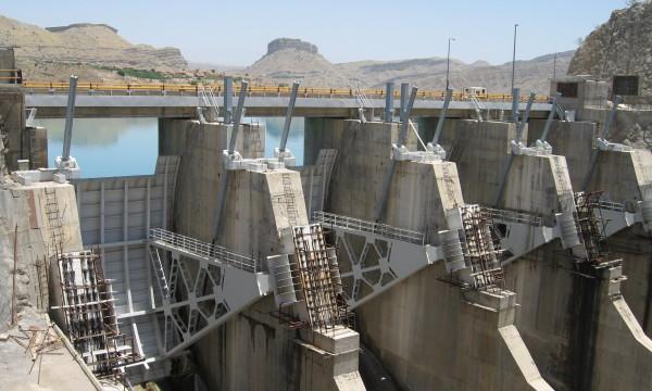 Marun-Staudamm im Iran