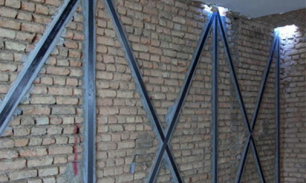Erdbebenverstärkung von Mauerwerk<br />mit CFK Lamellen
